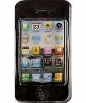 Gadget asbak smartphone van glas