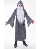 Gandalf mantel in de kleur grijs