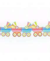 Geboorte versiering kinderwagen slinger
