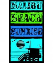 Gekleurd strandlaken malibu beach 95 100 x 175