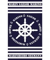 Gekleurd strandlaken marinheiro 95 100 x 175