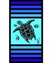 Gekleurd strandlaken sandy tortoise 95 100 x 175