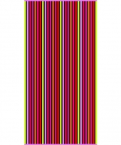 Gekleurd streepjes strandlaken aruba verticaal 90 x 170