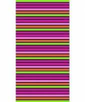 Gekleurd streepjes strandlaken paloma 90 x 170