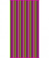 Gekleurd streepjes strandlaken paloma verticaal 90 x 170