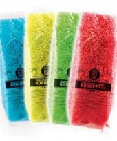 Gekleurde bio confetti in water oplosbaar