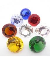 Gekleurde diamanten 5 cm per stuk