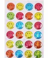 Gekleurde smiley stickers