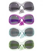 Gekleurde spacebril met glitters