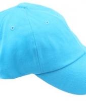 Gekleurde turquoise baseballcaps
