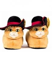 Gelaarsde kat pantoffels voor volwassenen
