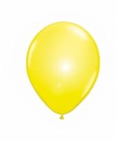 Gele ballonnen met led lampjes