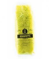 Gele bio confetti in water oplosbaar 10071262