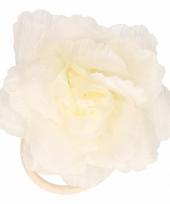 Gele bloem voor in het haar