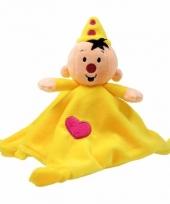 Gele bumba knuffeldoekjes