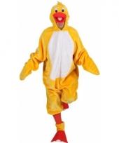 Gele eenden kostuum voor heren