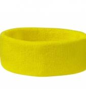 Gele hoofdbandjes