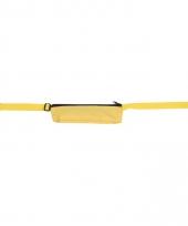 Gele reis portemonnee riem 80 107 cm
