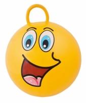 Gele skippybal voor kinderen 45 cm