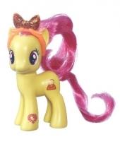 Gele speelgoed my little pony 8 cm 10075954