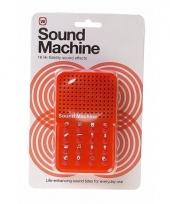 Geluidsmachine dagelijkse geluiden