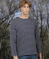 Gestreept ermano shirt voor heren