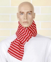 Gestreepte dames sjaal 145 cm