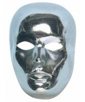 Gezichtsmasker zilver