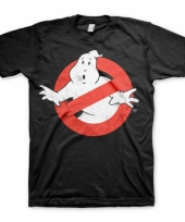 Ghosterbusters kleding heren wit-shirt