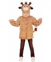 Giraffe carnavalskleding trui voor kinderen