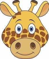 Giraffe maskers knutselen pakket