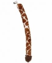 Giraffe staarten pluche 50 cm