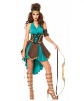Gladiator dames kostuum 3 delig