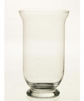 Glazen kelkvormige boeketvaas 25 cm