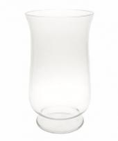 Glazen kelkvormige boeketvaas 40 cm