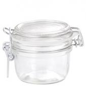 Glazen keukenpot 125 ml