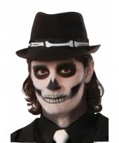 Gleufhoedje hoed met skelet
