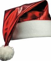 Glimmende kerstmutsen rood