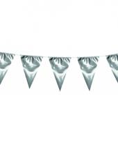 Glimmende vlaggenlijn xl zilver 10 meter