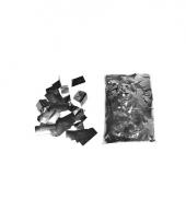 Glinsterende zilveren confetti 1 kilo