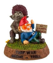 Gnoom beeldje met trol 25 cm