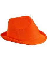 Goedkoop oranje feesthoedje
