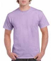 Goedkope gekleurde shirts lila orchideepaars voor volwassenen