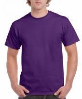 Goedkope gekleurde shirts paars voor volwassenen