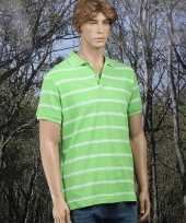 Golf poloshirt lime groen