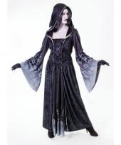 Gothic jurk met capuchon