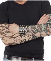 Gothic tattoo mouwen