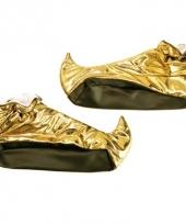 Gouden alibaba schoenen