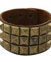 Gouden armband met studs
