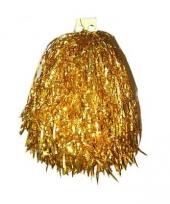 Gouden cheerball 33 cm